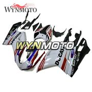 White Black Red Body Kits For Ducati 848 1098 1198 07 08 09 10 11 12 Hulls Cover
