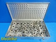 46x Stryker Howmedica Osteonics Omnifit Milling Cutter Reaming Instruments18784