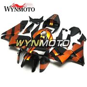 Gloss Orange Black Covers For Honda Cbr600rr 2005 2006 Bike F5 05 06 Bodywork