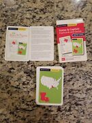 Rand Mcnally Schoolhouse U.s. States And Captals Flashcards And Game Cib Free S/h
