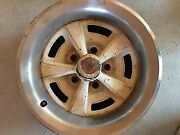 Original78-81 Wheels Set Of Two Pontiac 15and039and039 Rally Ii 1 Piece Rims