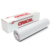 Oracal 631-12150-wht 631 Matte Vinyl 12 Inches By 150 Feet-white 12 X 150and039