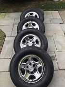 Guardsman Tires, Rims And Chevy Caps - Pick Up Only