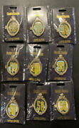 In Hand Disney D23 Wdi Mog Haunted Mansion Hinge Pin Set 9 Of 13 Le 300 Pins