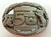 Smokey The Bear Limited Edition 50th Anniversary Belt Buckle 1994 883 Of 5000