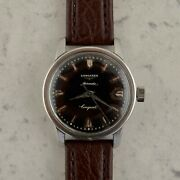 C.1957 Vintage Longines Automatic Conquest Watch Cal.19as Ref. 9000-8 In Steel
