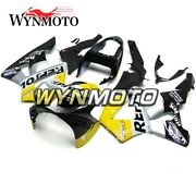 Black Yellow Cowlings For Honda Cbr900rr 2000 2001 Autocycle 929 00 01 Panels