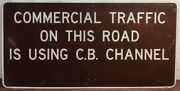 Vintagecommercialtrafficthis Roadc.b. Channellogging Co.