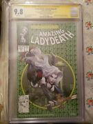 Lady Death Unholy Ruin 1 5/250 Signed By Marat And Brian Cgc 9.8 Low Number