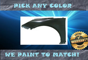 Pre-painted To Match Left Drivers Side Lh Fender For 2011-2014 Hyundai Sonata