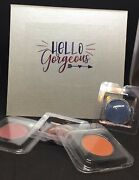 Hello Gorgeous Silver Magnetic Empty Makeup Z Type Palette