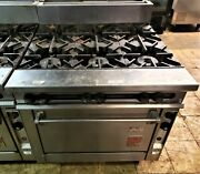 Used Wolf Commercial Stove And Standard Oven