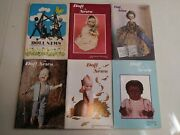 Lot Of 6 Doll News Magazines The Magazine Are From 1977-1982