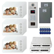 Apartment Home Security Video Intercom System Kit With 12 5 Color Monitors