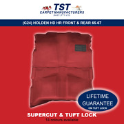 Moulded Car Carpet Scg24 Holden Hd Hr Front And Rear 65-67