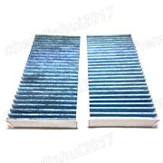 2 Activated Carbon Cabin Air Filter For Mercedes-benz X164 W164 W251 A1648300218