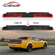 Smoke Pair Led Rear Tail Light For 08-14 Dodge Challenger Sequential Indicator