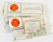 Lot Of Vintage Southern Pacific Railroad First Aid Kits Packets And Crew Paks