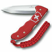 Victorinox 35249 Hunter Pro Alox Red Swiss Army Knife Pocket Knife Clip And Lanyar