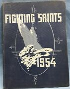 U.s.s. Saint Paul Ca-73 1954 Book Published By Officers And Men