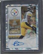 Bud Dupree 2015 Contenders Variation Cracked Ice Steeler Rookie Auto Rc D 13/23