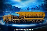 46 Cm Chinese Pure Brass The Wandering Earth Carrier Loader Lorry Ore Car Model