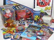 24 Jeff Gordon 18 Piece Lot – Signs, Wincraft, Trevco, Ornaments, Keychain, Cup