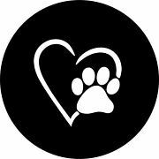 Paws Love Heart Spare Tire Cover All Sizes Available-back Up Camera Optional