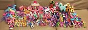 Lot 170+ My Little Pony Ponies Toy And Accessories Lion Salon Snipsy Snap Vintage