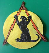 84th Fighter Squadron/ 78th Fighter Group Leather Patch
