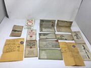 Old Company's Lehigh Coal Water Pump Cement Sheet Rock 1920s Advertising Lot