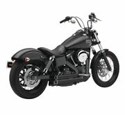 Cobra 6709b Black 909 Exhaust System For 06-11 Harley Dyna Fxd Fxdwg