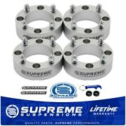 2 Thick Wheel Spacers For Can-am Atv/utv 4x110mm Bolt Pattern [4pc Billet Set]