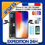 Ecran Oled Lcd Vitre Tactile Sur Chassis Iphone X/xr/xs/xs Max/11/11 Pro/max