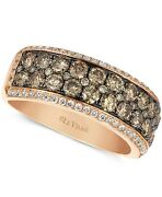 5600 Levian Chocolate White Diamond Band 1-1/2 Ct. T.w. In 14k Rose Gold
