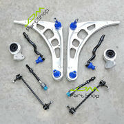 Control Arm Ball Joint Tie Rods Links Bushings Kit For Bmw E46 316 318 320 323
