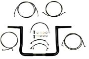 La Choppers Style Twin Peaks Handlebar And Cable Kit Flh 2014-2020 Usa Made