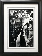 Marvel Moon Knight 23 Framed Poster Comic Book Art Perchance To Scream