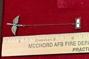 Wwii Pilots Wings Propeller Chain Insignia Chain Sterling