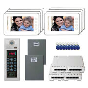 Home Door Camera Security Video Intercom System Kit With 8 7 Color Monitors