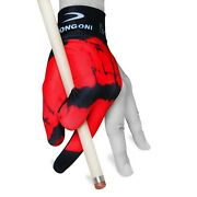 Longoni Billiard Pool Cue Glove Hot Lips 5 For Left Hand + Free Shipping