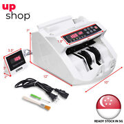 Money Cash Counting Bill Counter Bank Counterfeit Detector Uv And Mg Machine
