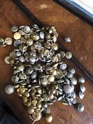 Large Lot Of Original French Ww1 Buttons Colonial Blue Horizon