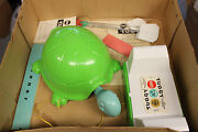 Vintage 1963 Gilbert Electric Battery Operated Tuggy The 2 Headed Turtle Toy