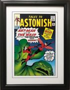 Marvel Tales To Astonish 44 Framed Comic Book Poster Ant-man The Wasp Antman