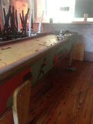 Vintage Shuffle Alley Bowling Arcade Game. For Parts Or Restoration Project Only