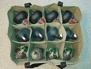 12 Pocket Custom Decoy Bag For Standard To Magnum Size Ducks, Red Heads And More