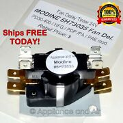 5h73035 Modine Gas Heater Fan Delay Timer Relay Pd/pdp/pae/pa - Ships Today