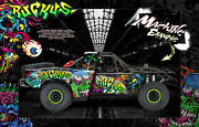 Ruckus Wrap Traxxas Unlimited Desert Racer Hop-up Skin With Chassis Cage Decals