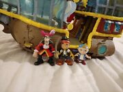 Jake And The Neverland Pirates Under Sea Ship Jake Cubby Captain Hook Spyglass